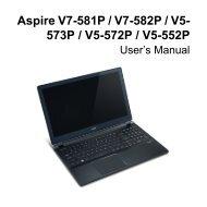 Acer Aspire V5-573P LCD Lid Bag of Screws Screw Kit Parts