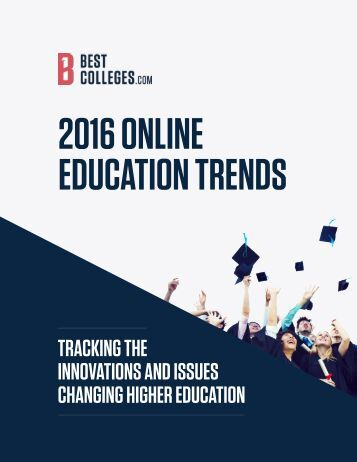 2016 ONLINE EDUCATION TRENDS