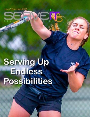 Serveitup Tennis Magazine #9