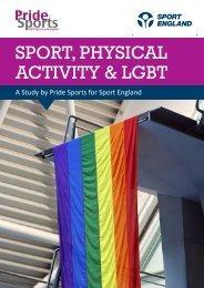 SPORT PHYSICAL ACTIVITY & LGBT