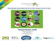 Professional Logo Design - Chameleon Print Group