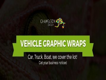 Vehicle Graphic Wraps