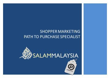 POTTER -SALAM TRADE SHOPPER ACTIVATION