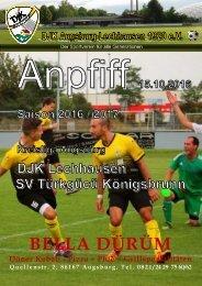 Anpfiff 2016-10-15 - DJK Lechhausen