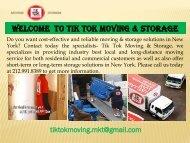 Commercial moving in New York |TikTok Moving