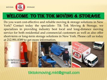 Commercial moving in New York |TikTok Moving