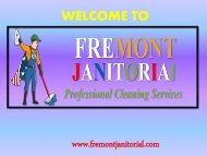 Fremont Cleaning Services|Fremont janitorial