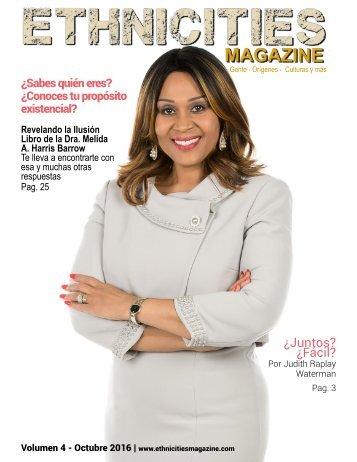 Volumen 4 - Ethnicities Magazine - Octubre