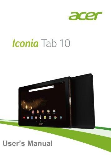 manual acer iconia a3 rh yumpu com Acer Iconia Tab A500 Problems Acer Iconia Tab A500 Camera