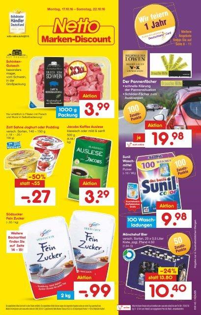 netto marken-discount prospekt kw42 onlineprospekt.com