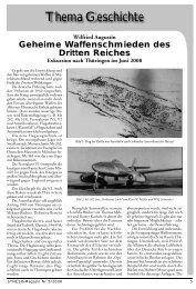 Thema Geschichte: Geheime Waffenschmieden des Dritten Reiches