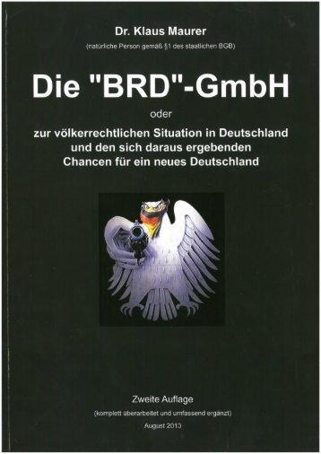 Die BRD-GmbH-2--Dr. Wolfgang Maurer