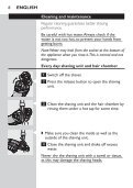 Philips Shaver series 3000 Electric shaver - User manual - ELL - Page 6