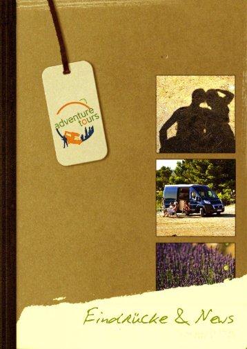 Broschüre 2016  Wohnmobil I