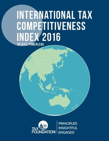 International Tax Competitiveness Index 2016