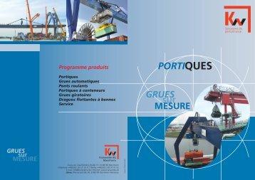 PORTIQUES PORTIQUES - KW-Kranwerke AG