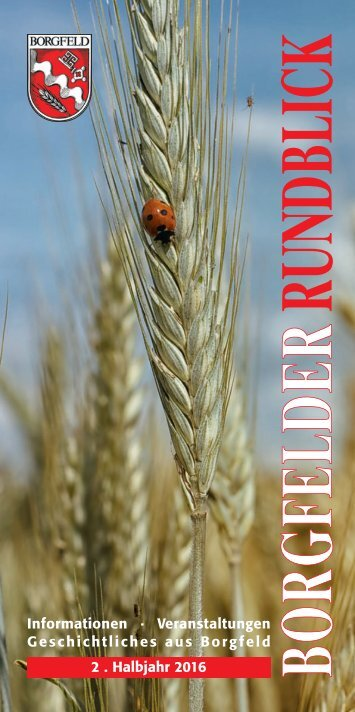 Borgfelder Rundblick 2/2016 Juli-Dezember