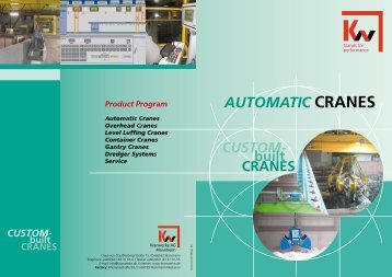 AUTOMATIC CRANES - KW-Kranwerke AG