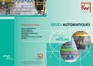 grues automatiques grues automatiques - KW-Kranwerke AG