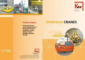 OVERHEAD CRANES - KW-Kranwerke AG