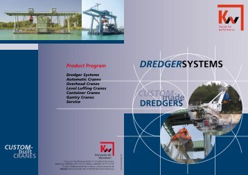 Product Program Dredger Systems Automatic Cranes Overhead ...