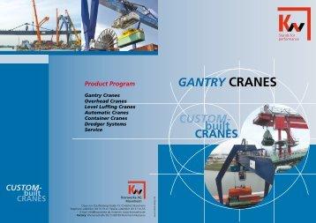 GANTRY CRANES - KW-Kranwerke AG