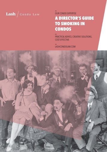 TO SMOKING IN CONDOS