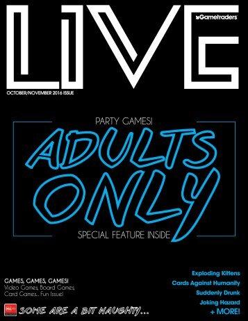 Live Magazine October Edition