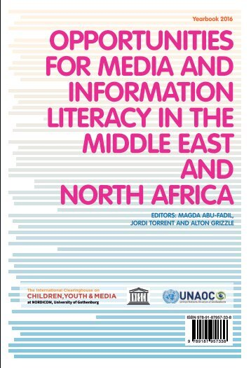 infOrMatiOn LiteracY in the MiddLe east and nOrth africa