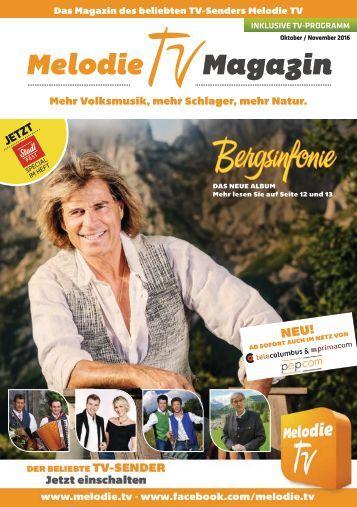 Melodie TV Magazin 10 11 2016 Screen V2