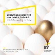 Belgium an unexpected ideal hub for FinTech ?