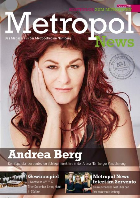 Metropol News Oktober 2016