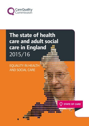 The state of health care and adult social care in England 2015/16