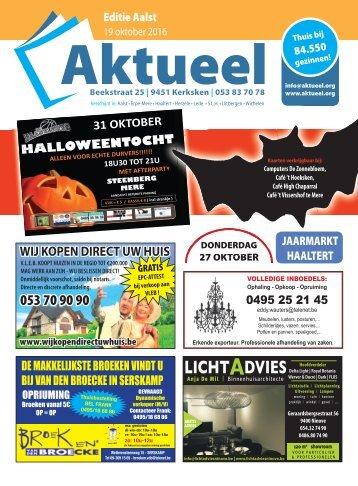 Editie Aalst 19 oktober 2016