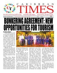 Caribbean Times 16th Issue - Monday 17th October 2016