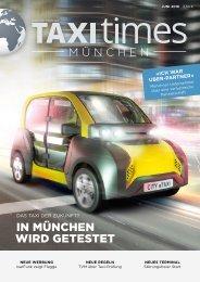 Taxi Times München - Juni 2016