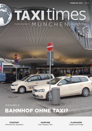Taxi Times München Februar 2016