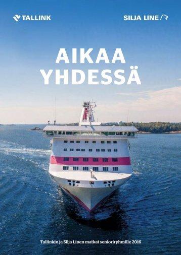 Tallink Silja Senioriryhmämatkat 2016