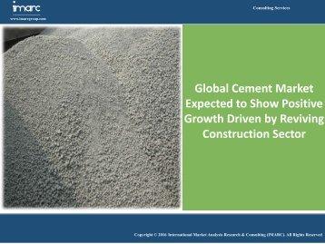 Global Cement Market Report 2016-2021