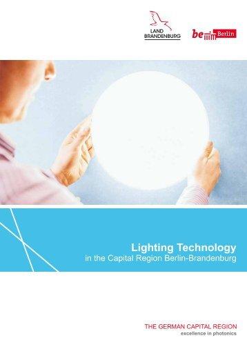 Lighting Technology in the Capital Region Berlin-Brandenburg