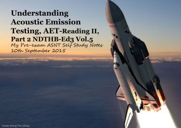 Understanding Acoustic Emission Testing- Reading 2 NDTHB Vol5 Part 2A
