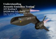 Understanding Acoustic Emission Testing- Reading 2 NDTHB Vol5 Part 3A