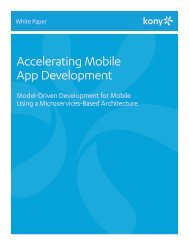 Accelerating Mobile App Development