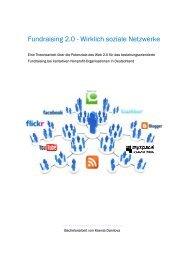 Fundraising 2.0 - Wirklich soziale Netzwerke