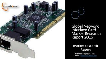 Global Network Interface Card Market Research Report 2016