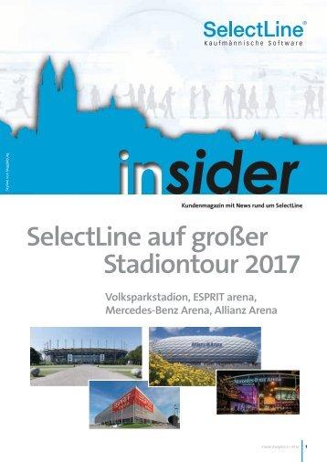 Endkundenmagazin insider 2016/3 - SelectLine Software