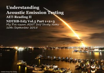 Understanding Acoustic Emission Testing- Reading 2 NDTHB Vol5 Part 123A