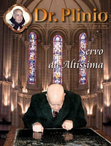 Revista Dr Plinio 73