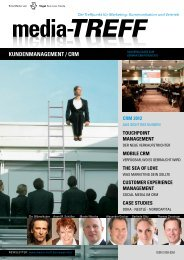 KUNDENMANAGEMENT / CRM - media-TREFF