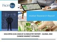 BPDA (CAS 2420-87-3) INDUSTRY REPORT